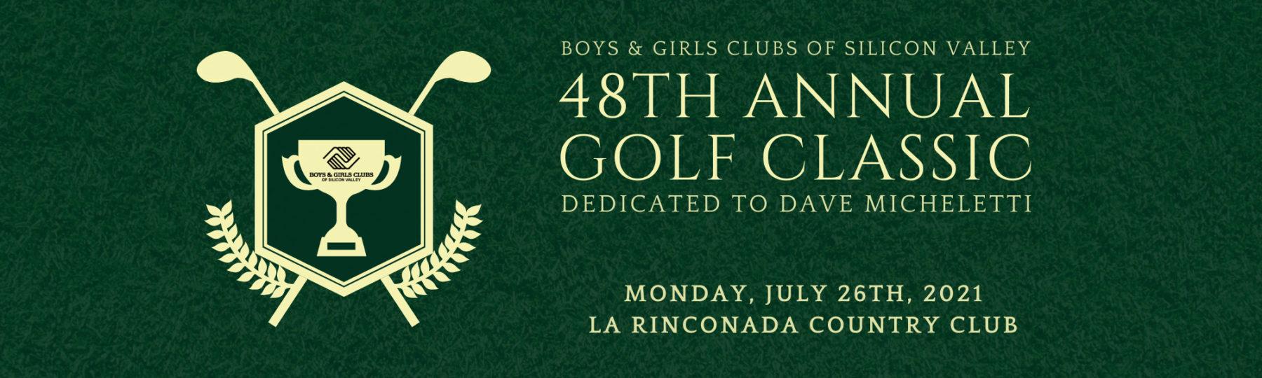 48th annual golf classic